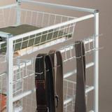 elfa White Tie/Belt Rack 540mm 540mm For Depth Frame