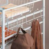 elfa Platinum Frame Side Hook Rack 525mm For 540mm Depth Frame