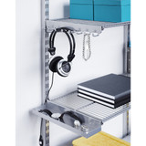 elfa 40 Wire Shelf 902mm Width - Platinum