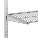 elfa 40 Wire Shelf 1212mm Width - Platinum