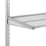 elfa 30 Wire Shelf 450mm Width - Platinum