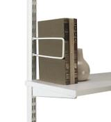 elfa Clip Book Supports 2-Piece - White