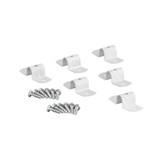 elfa Solid Shelf Joiners 6-Pack