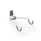 elfa Utility Track Bike Hook Horizontal - Grey