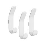 elfa Utility Pegboard Hook Basic Double 3-Pack - White