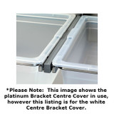 elfa 40 Bracket Click-In Cover Centre - White