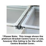 elfa 30 Bracket Click-In Cover Centre - White