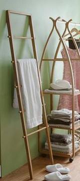 5 Tier Bamboo Ladder