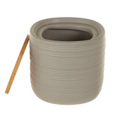 Canister - Ceramic/Bamboo