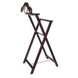 Timber Garment Rack Valet - Chocolate
