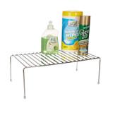 Chrome Rectangle Flat Shelf