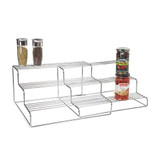 Expandable Pantry Shelf Rack 3 Tier