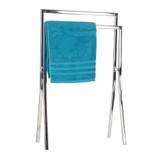 2 Rail Towel Rack Chrome