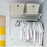 elfa Custom Shelf and Hanging Rail
