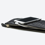 Mighty Purse Wristlet - Diamond Black