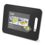 Joseph Joseph Slice and Sharpen Chopping Board Large - Black