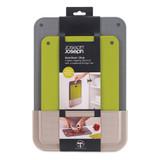 Joseph Joseph DoorStore 2-Piece Chopping Board Set with Case
