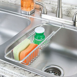 iDesign Metro Rustproof Aluminum Over-The-Sink Caddy
