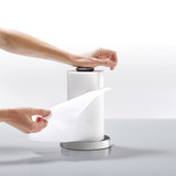 Joseph Joseph Push&Tear Easy-Tear Kitchen Paper Roll Holder