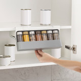 Joseph Joseph CupboardStore Under-Shelf Spice Rack - Grey