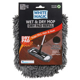 White Magic Wet and Dry Mop Dry Pad Refill