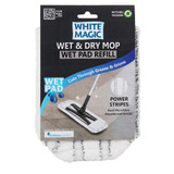 White Magic Wet and Dry Mop Wet Pad Refill