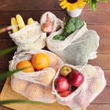 White Magic Eco Basics Produce Bags - Set of 5