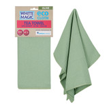 White Magic Eco Cloth Tea Towel - Olive