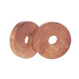 Cedar Fresh Cedar Hanger Rings Pack of 6