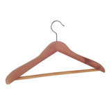 Cedar Fresh Deluxe Cedar Hanger With Bar