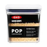 OXO POP 2.0 Container Big Square Short 2.6L