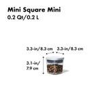 OXO POP 2.0 Container Mini Square Mini 200ml