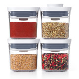 OXO POP 2.0 Container Mini Square Mini 200ml - Set of 4