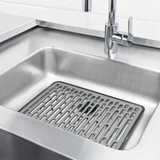 OXO Silicone Sink Mat Large - Grey