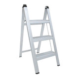 Slimline Folding 3 Step Aluminium Ladder