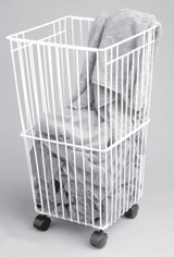 Laundry Basket With Castors