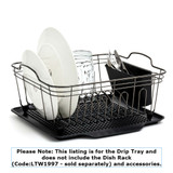Drip Tray for Small Black Onyx Dishrack