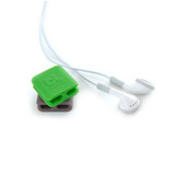 BlueLounge CableClip Small 6 Pack - Green/Grey
