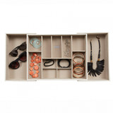 Stackers Jewellery Expandable Drawer Slider Large - White