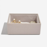 Stackers Mini Jewellery Box Tray 1 Deep Compartment - Taupe
