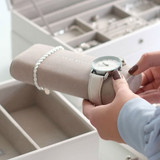 Stackers Jewellery Box Accessory Watch/Bracelet Pad  - Grey
