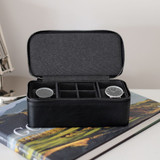 Stackers For Him Travel Watch Box Large - Black