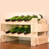 Modularack 8 Bottle Wine Rack - Natural
