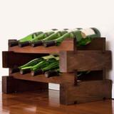 Modularack 8 Bottle Wine Rack - Matt Stain
