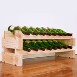 Modularack 16 Bottle Wine Rack - Natural