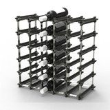 NOOK 25 Pocket Wine Rack Medium - Black