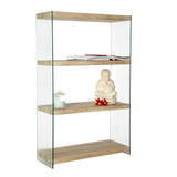 Howards Cube 4 Shelf Storage Unit - Wide