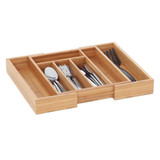 Howards Bamboo Cutlery Organiser Expandable - Small