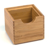 Howards Bamboo Stackable Square Drawer Organiser - Mini