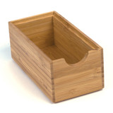 Howards Bamboo Stackable Drawer Organiser - 15.4 x 7.8 x 6.4cm